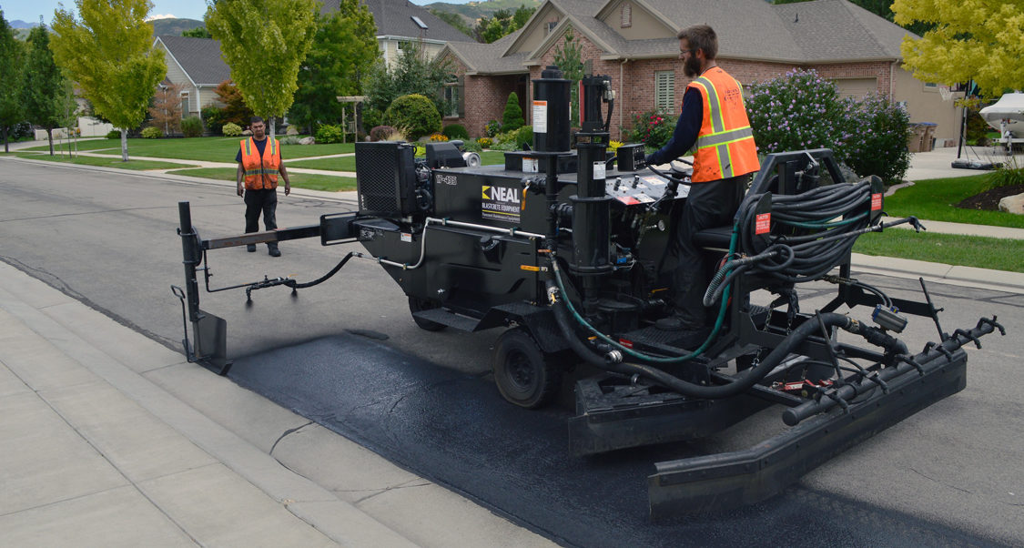 Neal Asphalt Sealcoating Equipment