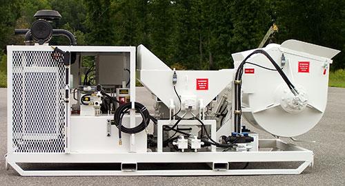 RMX-5000 Mixer Pump Skid Mount