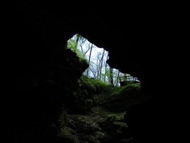 cave man outline?