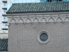 neat church window