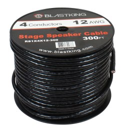 12 awg 4 conductor speaker cable 150 ft rs1x4x12 300  [ 1000 x 1000 Pixel ]