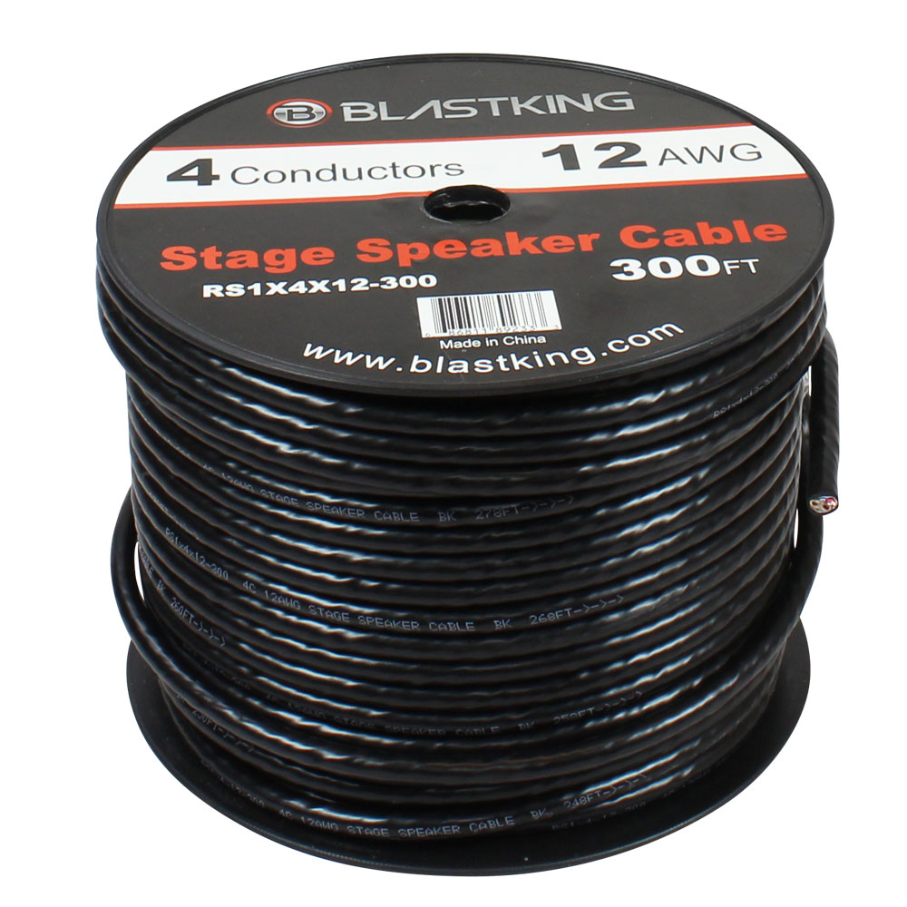 medium resolution of 12 awg 4 conductor speaker cable 150 ft rs1x4x12 300