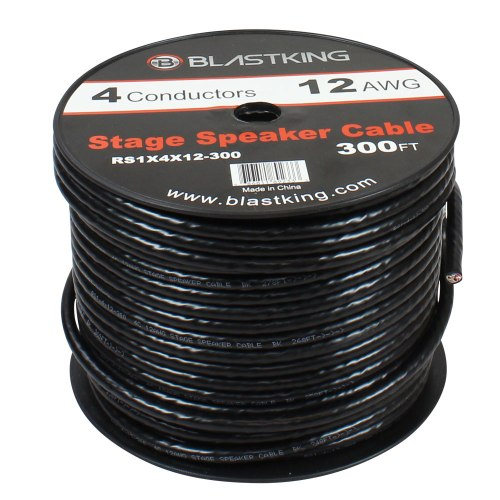 small resolution of 12 awg 4 conductor speaker cable 150 ft rs1x4x12 300