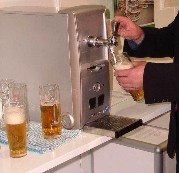 Beer PC computer case mod