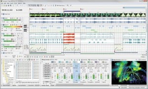 A look at the Acid Pro 7 interface