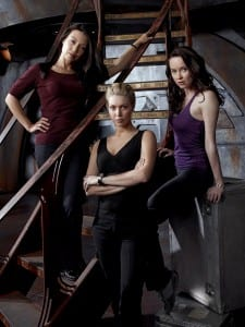 From left: Ming-Na, Alaina Huffman, Elyse Levesque (Photo credit: Art Streiber)