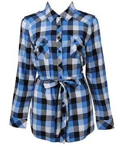 Campy Gingham Check Shirt