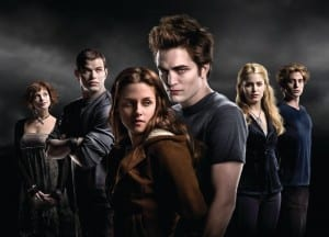 "Nothing happens in ""Twilight."" We spend the first three quarters of the book marveling over Bella's hackneyed descriptions of Edward's hunky marble ass and watching her brush her teeth."