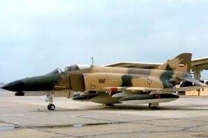 An Iranian F-4 (Media credit/PressTV)