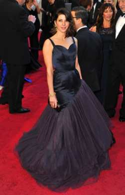 Marisa Tomei's gown was a prom nightmare (Media Credit/A. Rodriguez, WireImage)
