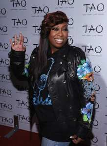 Missy Elliot attends the 10th anniversary party of TAO New York at TAO on October 16 (WireImage)