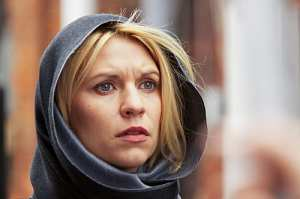 Claire Danes as Carrie Mathison in Homeland (episode 9) (Media credit/Kent Smith/SHOWTIME)