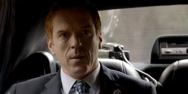 Congressman Brody (Damian Lewis) is shocked to find a familiar face driving his limo.