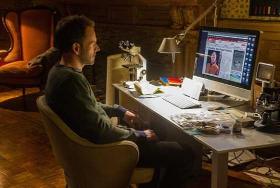 Sherlock (Jonny Lee Miller) must do Moriarty's bidding to learn more about Irene.