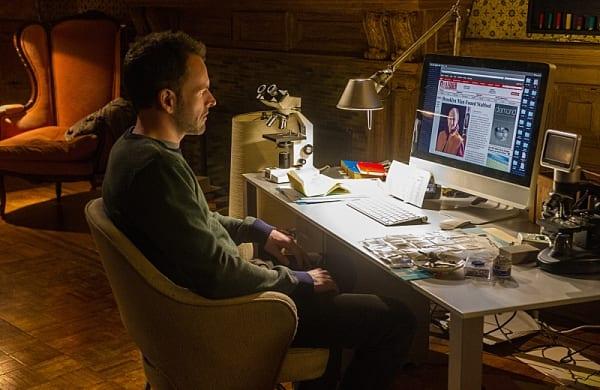 Sherlock (Jonny Lee Miller) must do Moriarty's bidding to learn more about Irene.