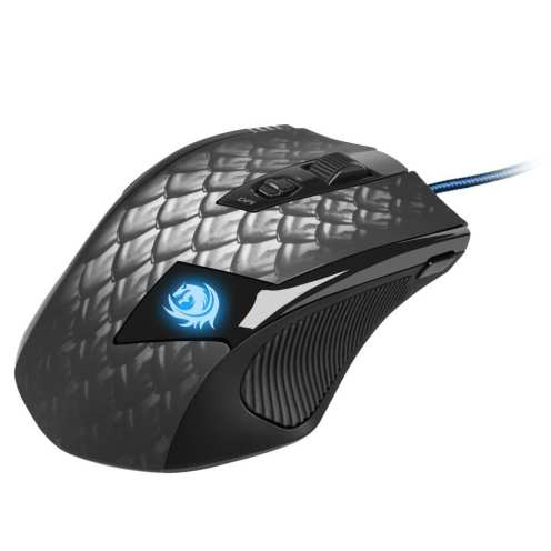 Drakonia Black Mouse