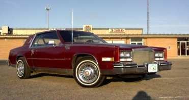 The original 1983 Cadillac wire wheel