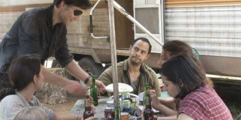 The Governor (David Morrissey) rejoins Martinez (Jose Pablo Cantillo) and turns the new camp into Woodbury 2.0