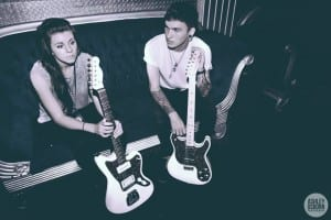 Lynn and Alex Babinski of PVRIS. Media credit to Ashley Osborn.