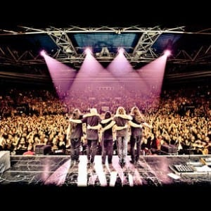Dream Theater in Paris. Media credit to Road Runner Records