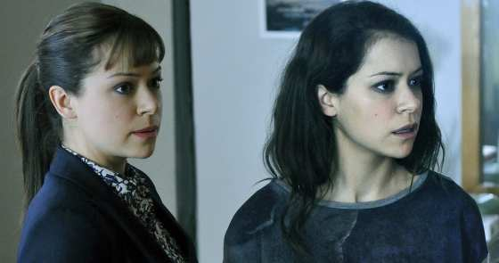 Sarah and Allison (Tatiana Maslany) meet up in this weeks episode to do damage control.