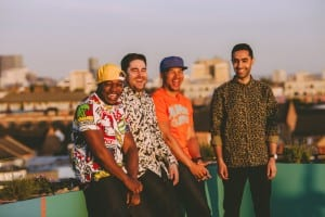 Rudimental, UK EDM sensation, performed both at the Xfinity Center and NAGA Sept. 9.