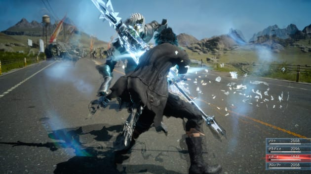 Final Fantasy XV will be featuring a real-time combat system much like the God of War series.