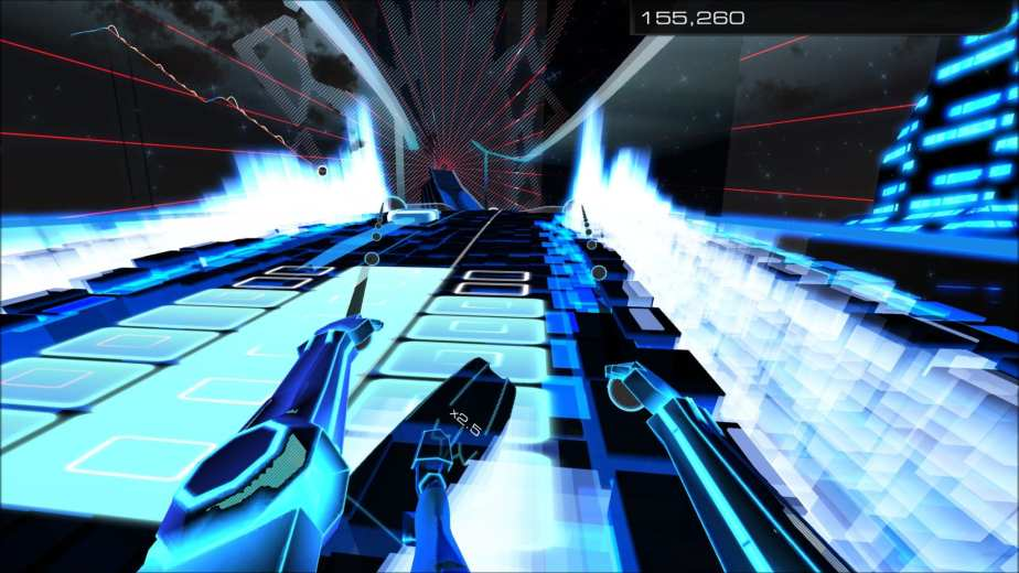 Sequel to the rhythm game Audiosurf, this installment adds some new game modes while being a decent improvement over the original game