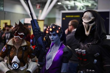 Tracer, Widowmaker, Reaper - Overwatch