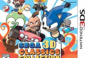 SEGA 3d classics 3ds