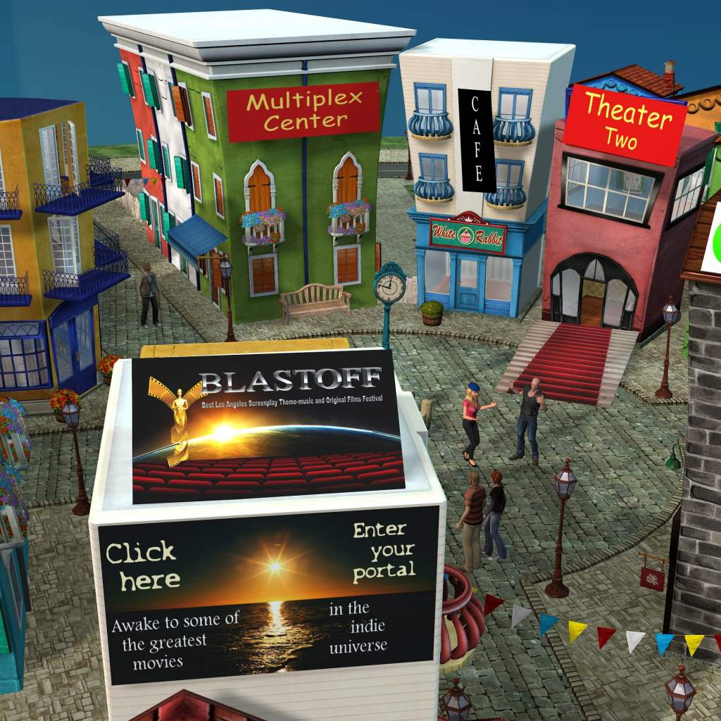 The BLASTOFF Virtual Village