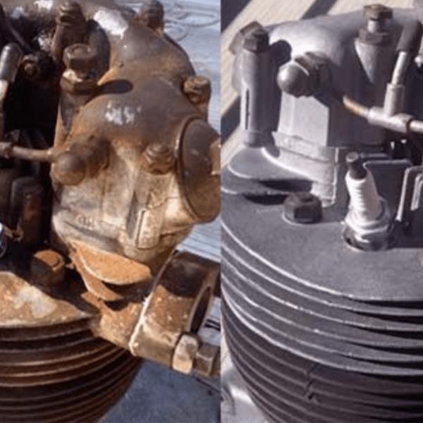 Почистване на метални детайли Blastvv
