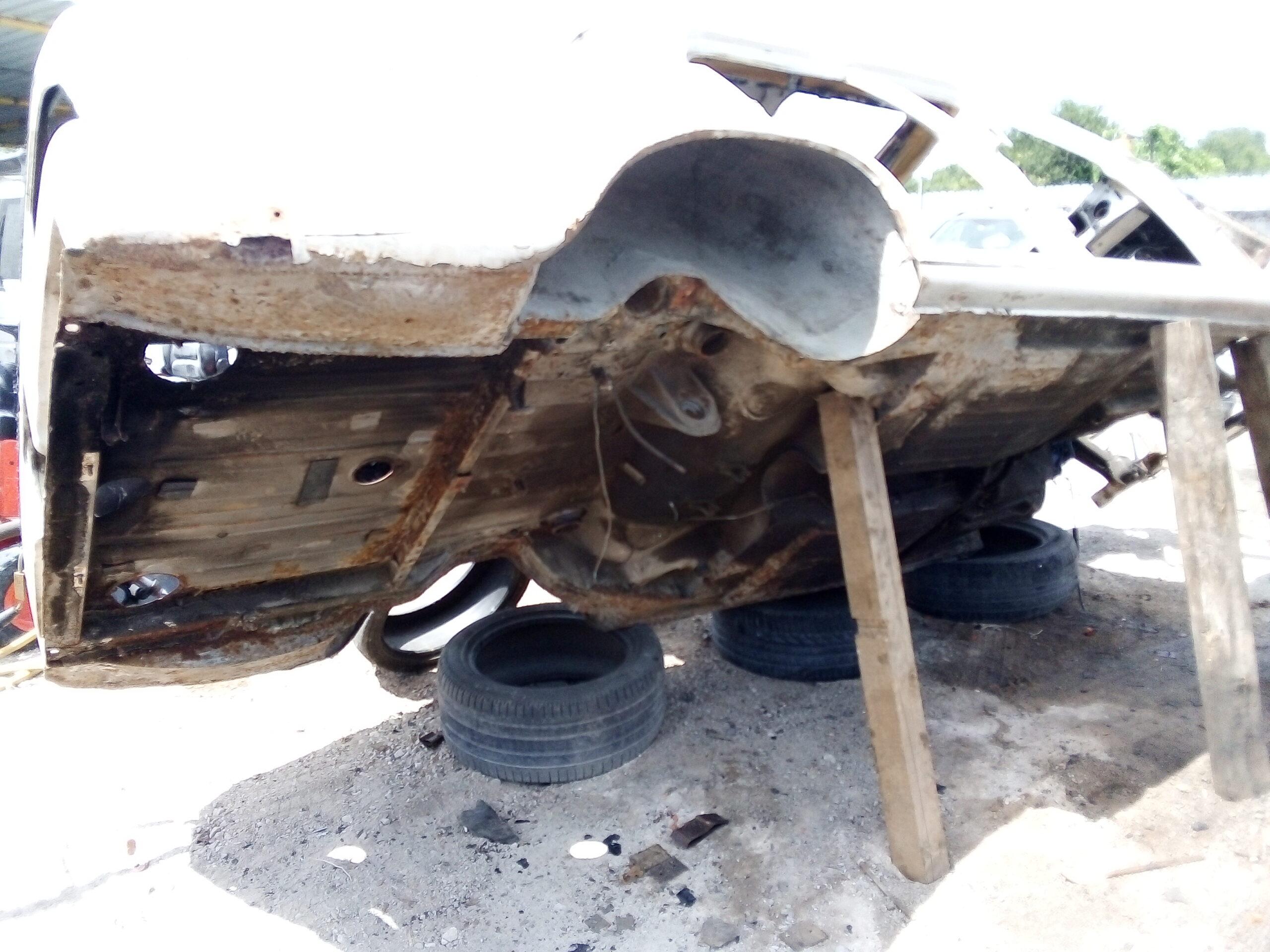 Пясъкоструене BlastVV, ретро-автомобил