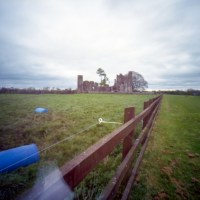 Bective Abbey through a pinhole