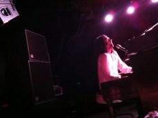 Tony on the piano (Crash Kings)