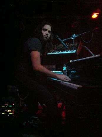 Tony Beliveau rocking out on the piano and looking awesome in general (as always)