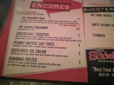 Concerts with dessert menus are even better.