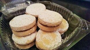 Alfajores from Inka Mamma, shortbread and caramel cookies that are basically the best things ever.
