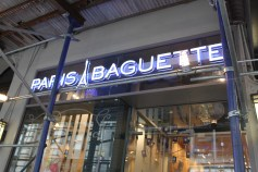 Paris Baguette, a chain that I'd seen before but hadn't been in