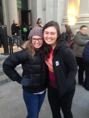 Alex and I outside the Met! It was so good seeing her in NYC.