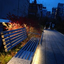 High Line at sunset