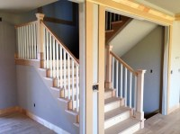 Blaurock Construction | Maple Staircase