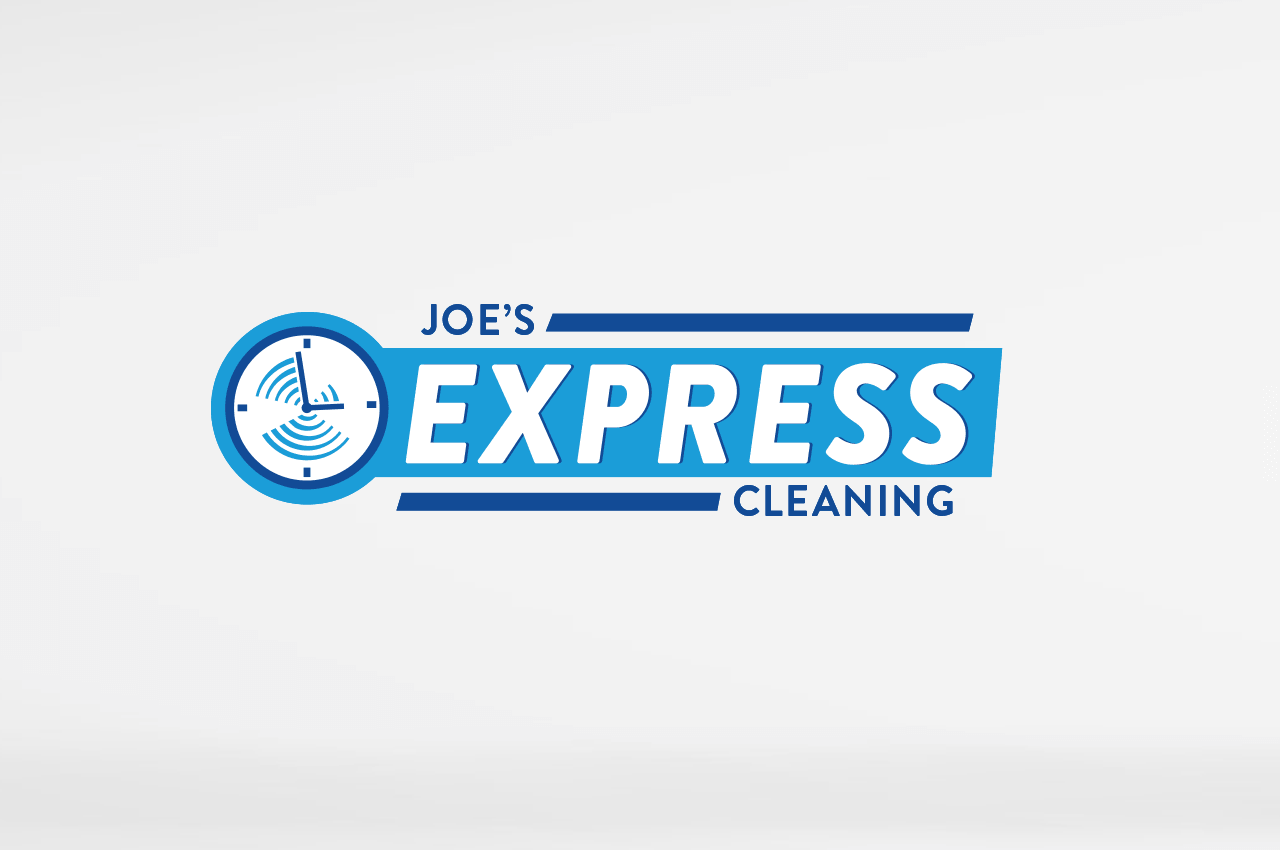 Case Study Joe's Express Cleaning Logo Design Blaz Design
