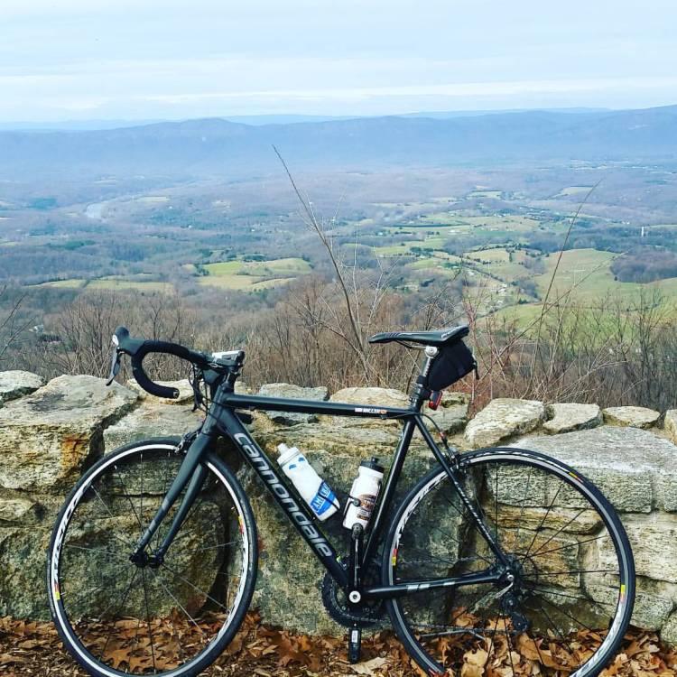 cycling skyline drive