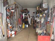 Our tool shed in 2009