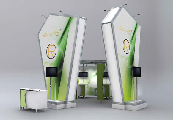 blazer exhibits and events solar exhibiting system