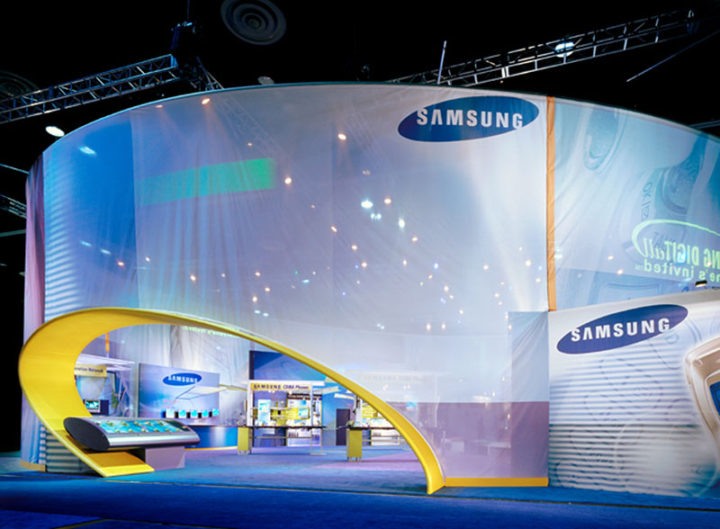 Tension Fabric Display Walls