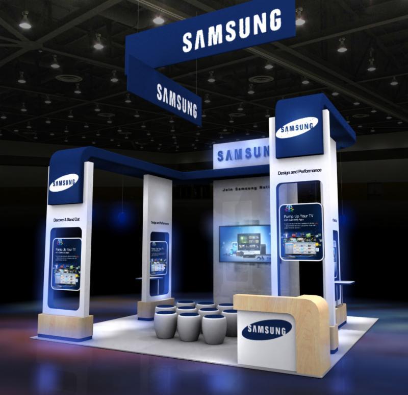 Custom Trade Show Exhibit Booth Display Rentals