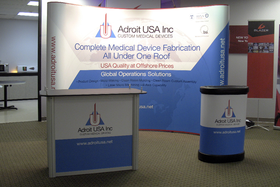 Portable and Modular Exhibits