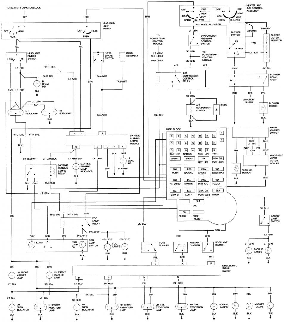 7061d1307690634 92 s 10 4 3l power windows dont work 1992 elect schematic?resized665%2C7546ssld1 2000 s10 wiring diagram efcaviation com 2000 blazer 4x4 wiring diagram at soozxer.org